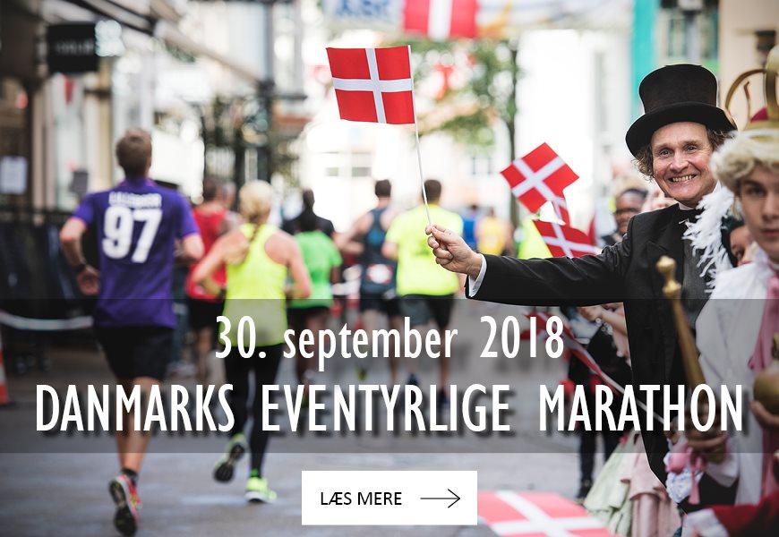 """Danmarks eventyrlige Marathon, ½ Marathon og """" Løb"""